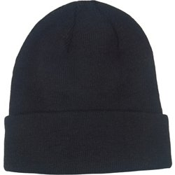 Boys' Solid Roll-Up Beanie