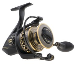PENN Battle II 2500 Spinning Reel Convertible