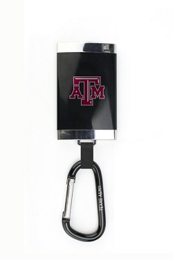 AES Optics Texas A&M University Carabiner Charger