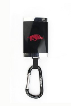 AES Optics University of Arkansas Carabiner Charger