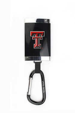 AES Optics Texas Tech University Carabiner Charger