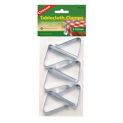Coghlan's Tablecloth Clamps 6-Pack