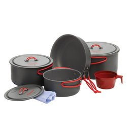 Coghlan's Hard-Anodized Aluminum Cookware Set