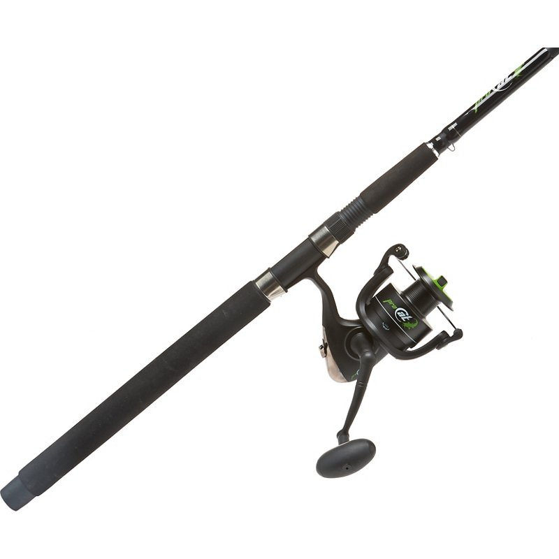 Academy Sports + Outdoors Pro Cat 7 ft Spinning Rod and Reel Combo Matte Black, 60 – Spinning Combos