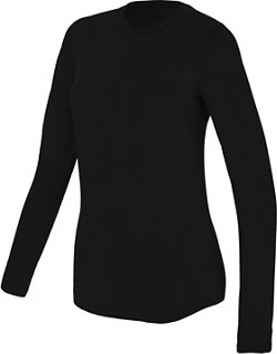 Kids' Thermal Stretch Baselayer Crew Neck Shirt