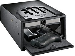 GunVault MiniVault Biometric GVB 1000 2-Gun Safe