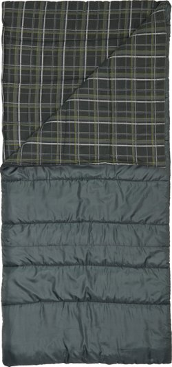 Magellan Outdoors 4 lbs Flannel Lined Rectangle Sleeping Bag