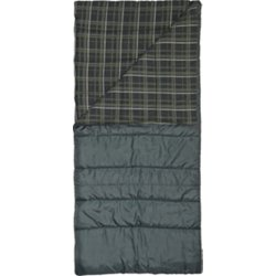 4 Lbs Flannel Lined Rectangle Sleeping Bag
