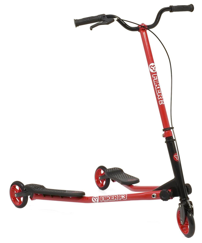 Y Fliker Scooter >> Yvolution Kids Y Fliker F3 Flow Series Scooter Academy