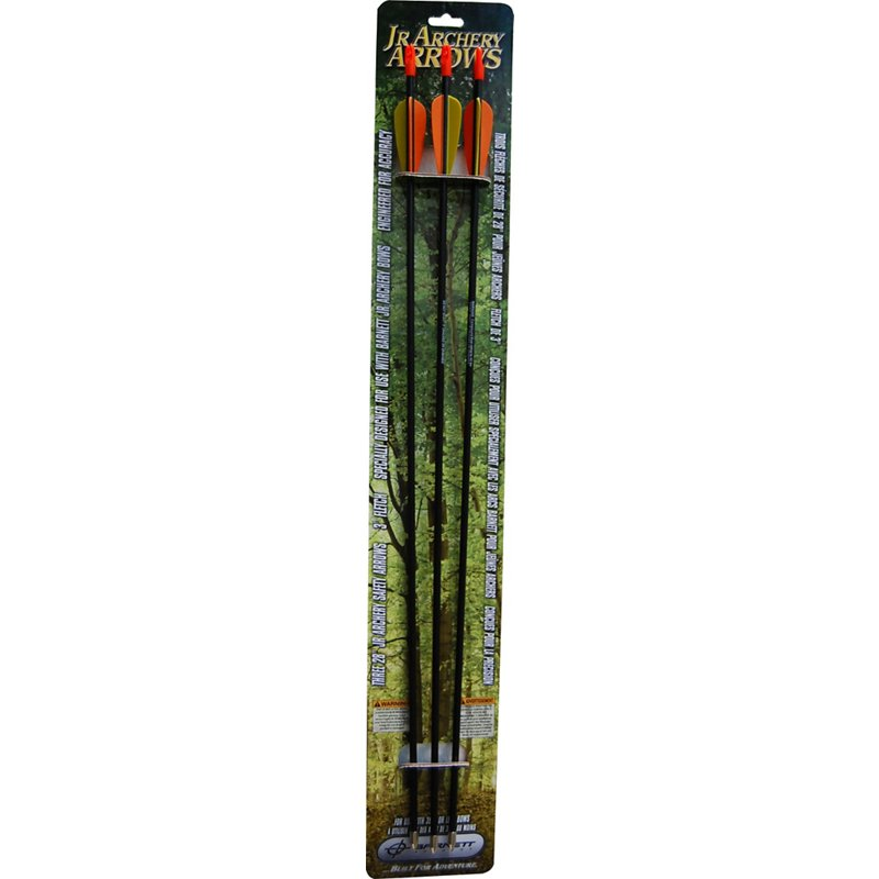 Barnett Junior Archery Arrows 3-Pack Black - Arrows Tips And Accessories at Academy Sports thumbnail