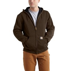 Men's Rutland Thermal-Lined Zip-Front Hooded Sweatshirt