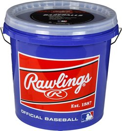 Rawlings Official League Practice Baseballs 24-Pack