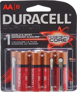 Duracell Quantum AA Batteries 8-Pack