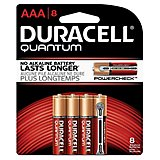 Duracell Quantum AAA Batteries 8-Pack