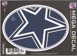 """Stockdale Dallas Cowboys 5"""" x 7"""" Repositionable Decal"""