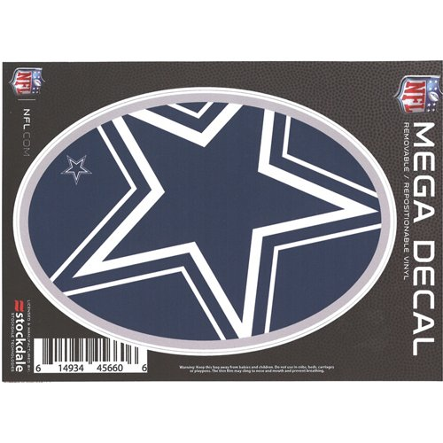 Stockdale Dallas Cowboys 5' x 7' Repositionable Decal