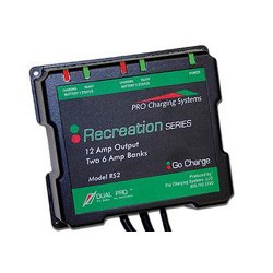 Pro Recreation Series 2-Bank Battery Charger