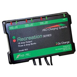 Pro Recreation Series 3-Bank Battery Charger