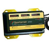 Dual Pro Sportsman Series 3-Bank Battery Charger