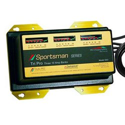 Pro Sportsman Series 3-Bank Battery Charger