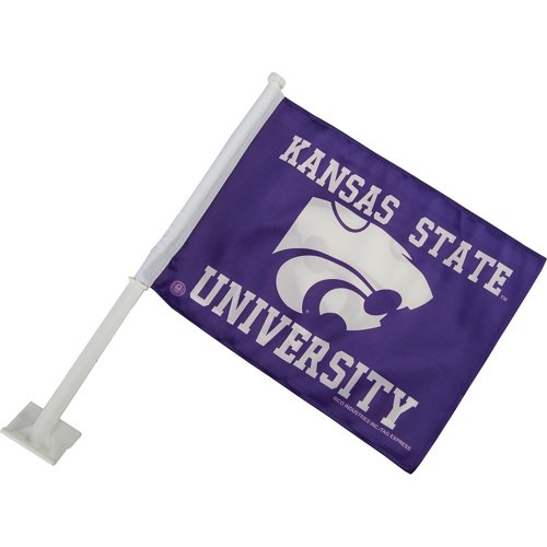 Rico Kansas State University Car Flag