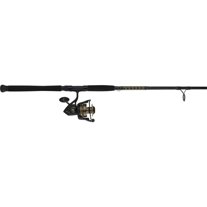 Penn Battle II 7′ ML Saltwater Spinning Rod and 3000 Reel Combo Black – Fishing Combos, Spinning Combos at Academy Sports