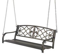 Mosaic Fleur-de-Lis Swing