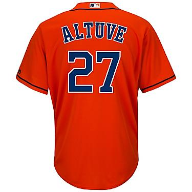 the latest 3016b c7d2d Majestic Men's Houston Astros Jose Altuve #27 Cool Base® Replica Jersey