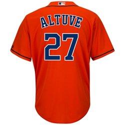Majestic Men's Houston Astros Jose Altuve #27 Cool Base® Replica Jersey