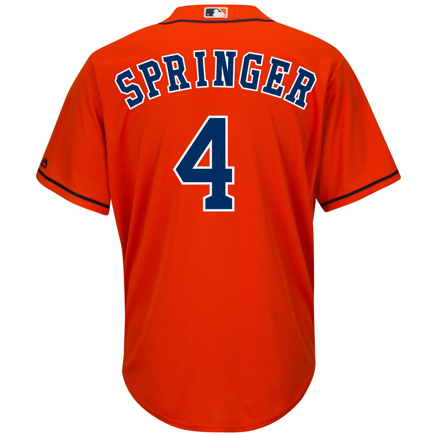 more photos 292f0 dc927 Majestic Men's Houston Astros George Springer #4 Cool Base® Replica Jersey
