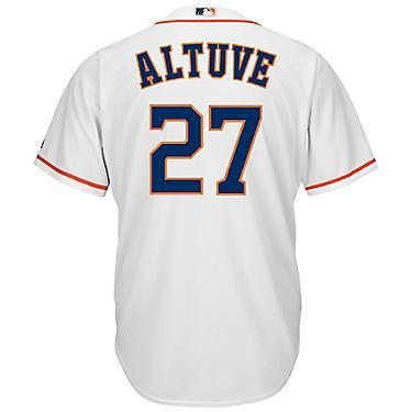 competitive price 8e9e3 aba2a Majestic Men's Houston Astros José Altuve #27 Cool Base® Home Jersey