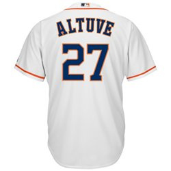 Men's Houston Astros José Altuve #27 Cool Base® Home Jersey