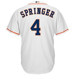 Men's Houston Astros George Springer #4 Cool Base® Jersey
