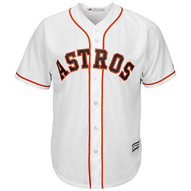 best website ddcc8 54d3b Majestic Men's Houston Astros George Springer #4 Cool Base® Jersey