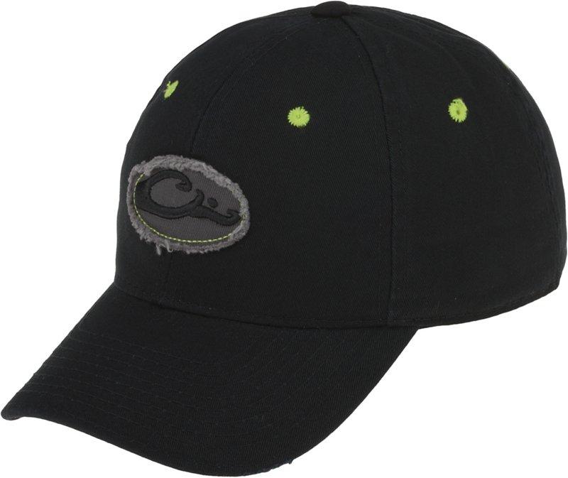 Drake Waterfowl Men's Frayed Logo Cap Black - Camo Clothing, Basic Hunting Headwear at Academy Sports thumbnail