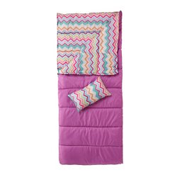 Magellan Outdoors™ Youth Chevron Sleeping Bag Combo