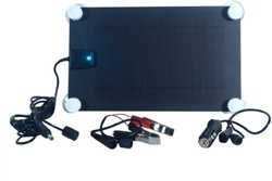 Nature Power 5W Semiflex Monocrystalline Solar Panel 12V Battery Maintainer