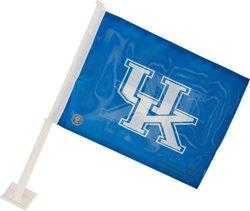 Rico University of Kentucky Interlocking UK Car Flag