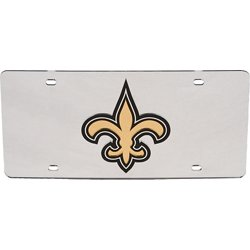 New Orleans Saints Mirror License Plate