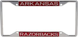 Stockdale University of Arkansas License Plate Frame