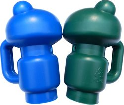 JumpZone Replacement Enclosure Pole Caps 2-Pack