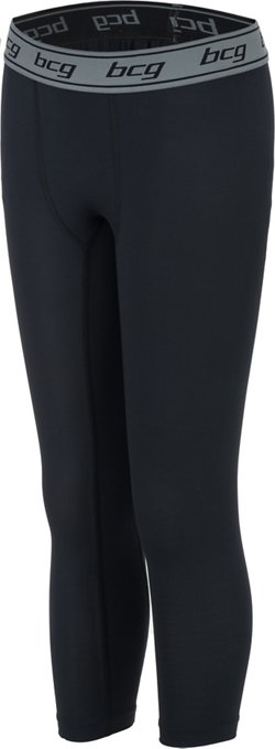 Boys' Athletic 3/4 Length Compression Tight