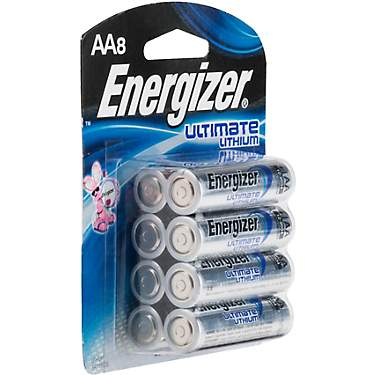 Energizer® Ultimate Lithium AA Batteries 8-Pack