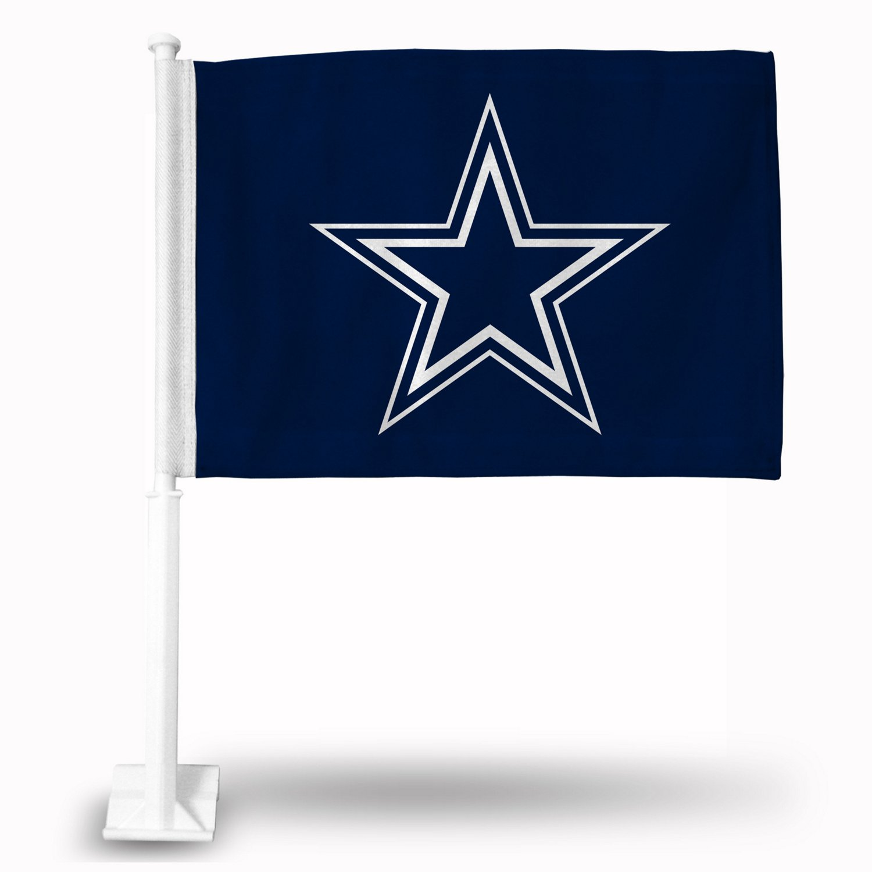 Rico Dallas Cowboys Star Car Flag Academy