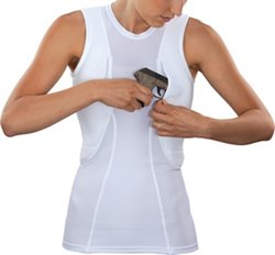 Women's Sleeveless Holster Shirt