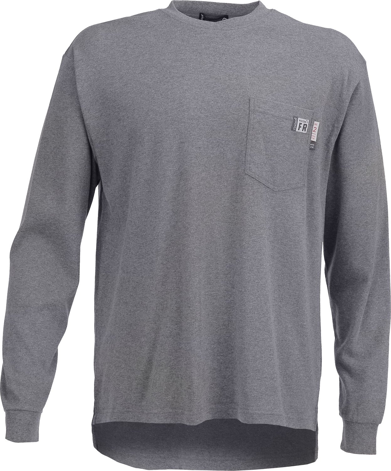 be3d0bbbf64 Wolverine Men s Flame Resistant Long Sleeve T-shirt
