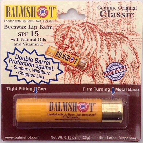 Balmshot Classic SPF 15 Beeswax Lip Balm