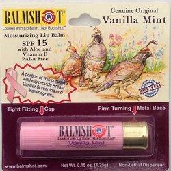 Balmshot Vanilla Mint SPF 15 Moisturizing Lip Balm