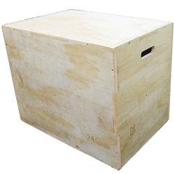 3-in-1 Wooden Plyo Box
