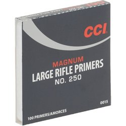 CCI® 250 Mag Large Rifle Primers 100-Pack